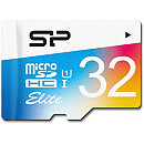 Silicon Power microSDHC, 32GB, Class 10 UHS-I + SD Adapter