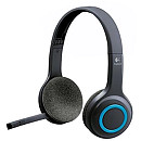 Logitech H600 Wireles Headset, Black/Blue