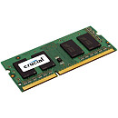 Crucial SODIMM, DDR3, 4GB, 1600MHz, CL11, Single stick, 1.35V