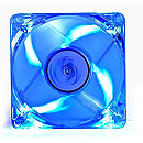Deepcool XFAN, 80mm, Transparent, Blue LED