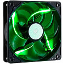 Cooler Master SickleFlow, 120mm case fan, Green LED