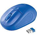 Trust Primo Wireless Mouse, Blue