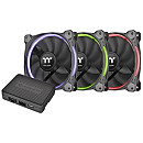 Thermaltake Riing 14, RGB LED, 140mm Case Fan (3Fan Pack)