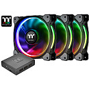 Thermaltake Riing Plus 12, RGB LED, 120mm Case Fan (3Fan Pack)